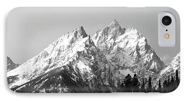 Cathedral Group Grand Teton National IPhone Case by Panoramic Images