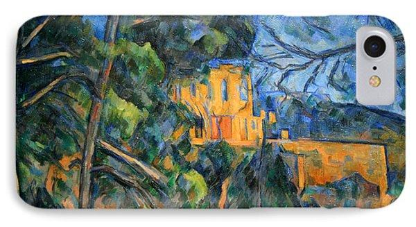 Cezanne's Chateau Noir IPhone Case by Cora Wandel