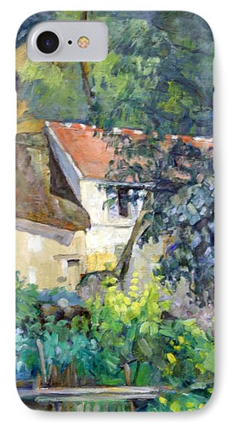 Cezanne's House Of Pere Lacroix IPhone Case by Cora Wandel