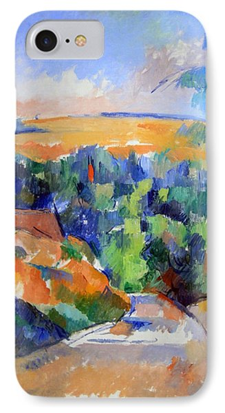 Cezanne's The Bend In The Road IPhone Case by Cora Wandel