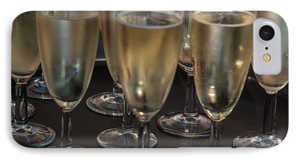 Champagne Flutes IPhone Case