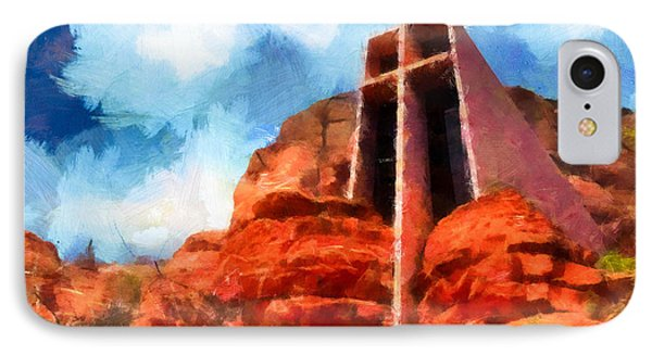 Chapel Of The Holy Cross Sedona Arizona Red Rocks IPhone Case