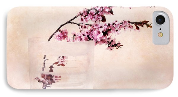 Cherry Blossom IPhone Case by Jessica Jenney