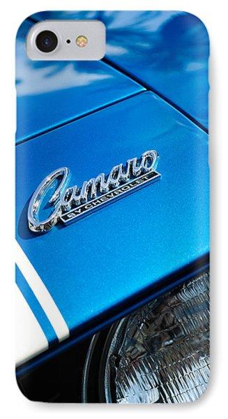 Chevrolet Camaro Emblem Phone Case by Jill Reger