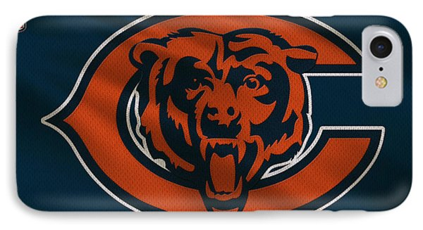 Chicago Bears Uniform IPhone Case by Joe Hamilton