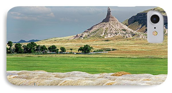 Chimney Rock IPhone Case by Jim West
