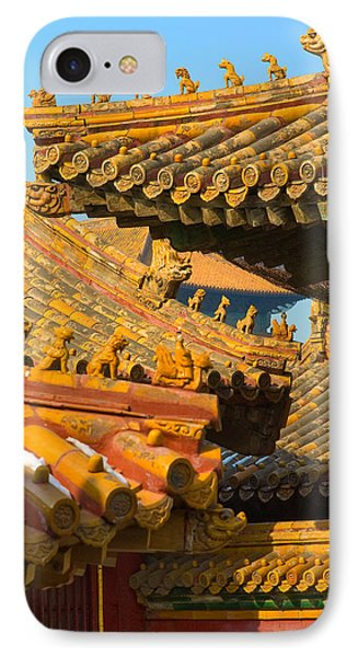 China Forbidden City Roof Decoration IPhone Case by Sebastian Musial