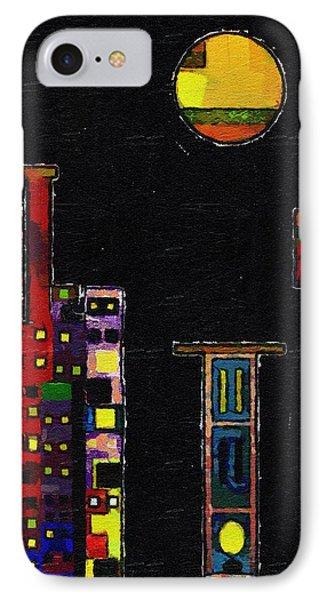 Chinatown Phone Case by RC deWinter