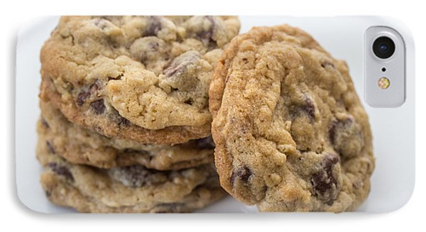 Chocolate Chip Cookies IPhone Case by Edward Fielding