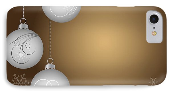 Christmas Background Phone Case by Michal Boubin