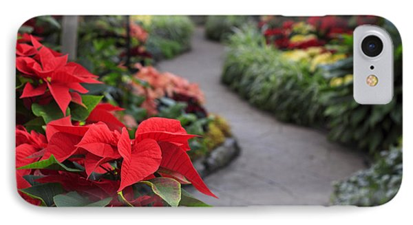 Christmas Garden IPhone Case by Charline Xia