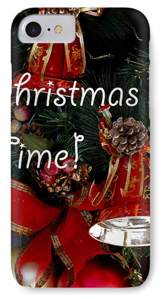 Christmas Time IPhone Case by Ivete Basso Photography