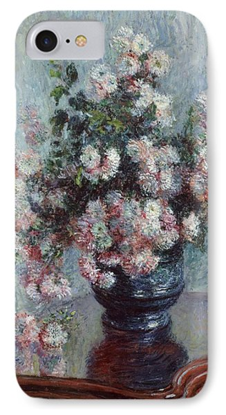 Chrysanthemums Phone Case by Claude Monet