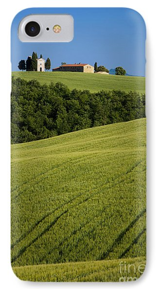 Church In The Field Phone Case by Brian Jannsen