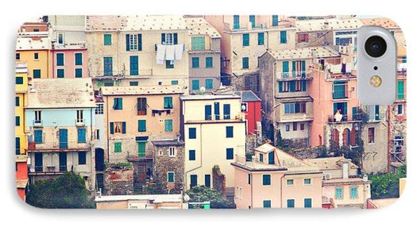 Cinque Terre Italy IPhone Case by Kim Fearheiley