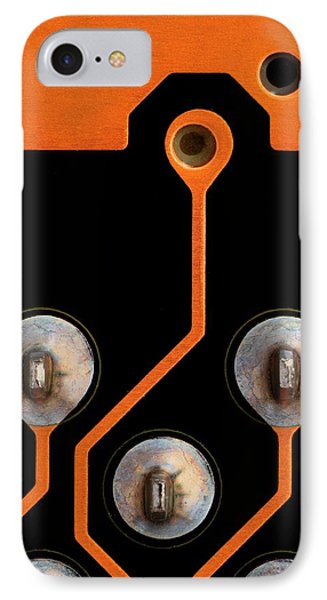 Circuit Board Tin Contacts IPhone Case