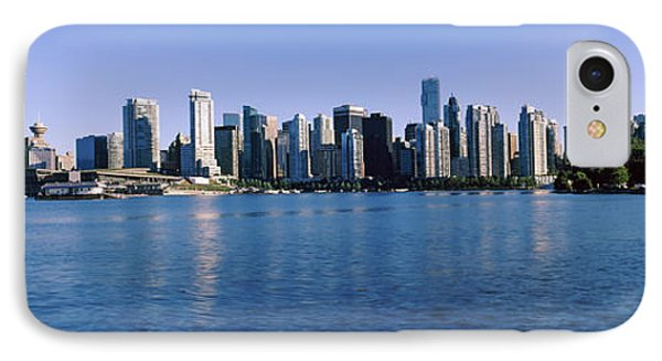City Skyline, Vancouver, British IPhone Case by Panoramic Images