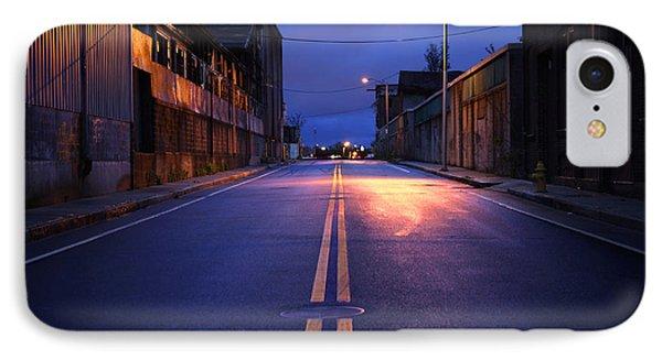 City Street Phone Case by Denis Tangney Jr