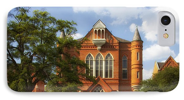 Clark Hall - University Of Alabama IPhone Case by Mountain Dreams