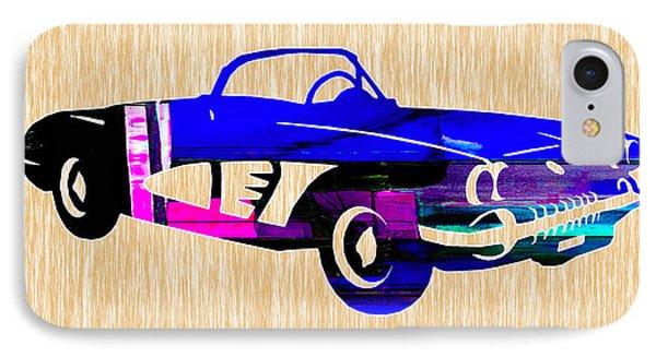 Classic Corvette IPhone Case by Marvin Blaine