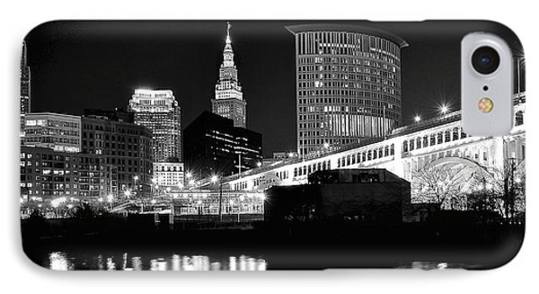 Cleveland Skyline IPhone Case
