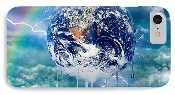 Climate Change IPhone Case by Robert Orinski