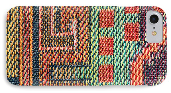 Cloth Pattern IPhone Case by Tom Gowanlock