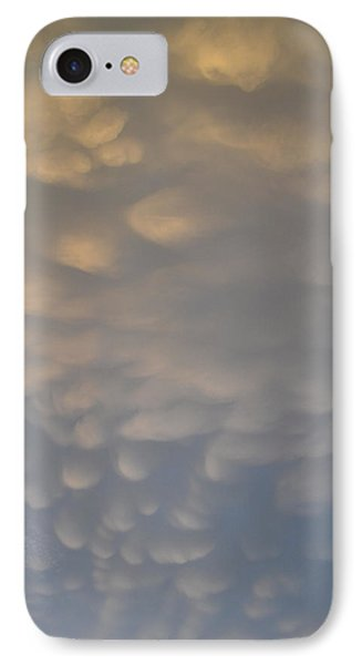 IPhone Case featuring the photograph Clouds Above  by Lyle Crump