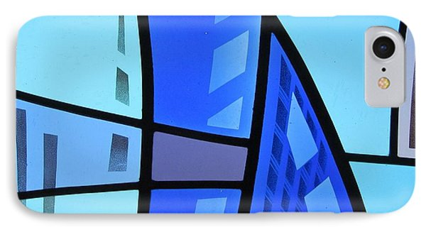 Coal Harbour Triptych Part 1 IPhone Case by Gilroy Stained Glass