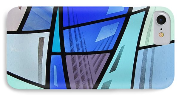 Coal Harbour Triptych Part 2 IPhone Case by Gilroy Stained Glass