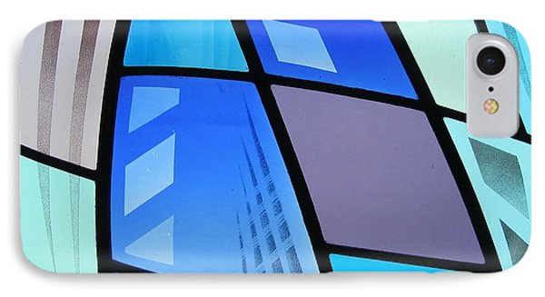 Coal Harbour Triptych Part 3 IPhone Case by Gilroy Stained Glass