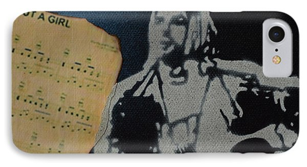 Cobain Spray Art IPhone Case