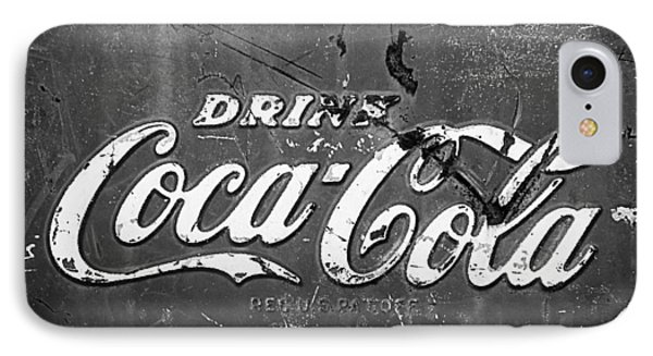 Coca-cola Sign Phone Case by Jill Reger