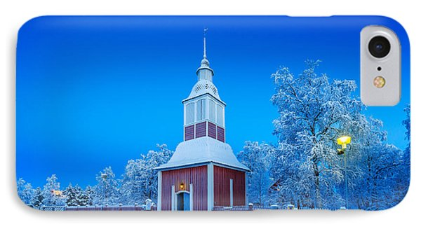 Cold Winter With Temperatures Going IPhone Case by Panoramic Images