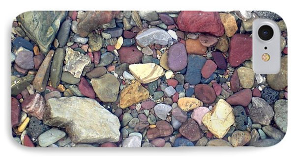 IPhone Case featuring the photograph Colorful Lake Rocks by Kerri Mortenson