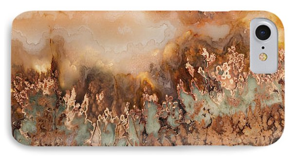 Colorful Plume Agate Phone Case by Leland D Howard