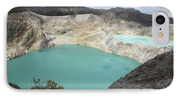 Colourful Crater Lakes Of Kelimutu Phone Case by Richard Roscoe