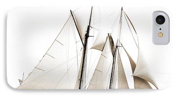 Constellation, Constellation Schooner, Yachts IPhone Case by Litz Collection