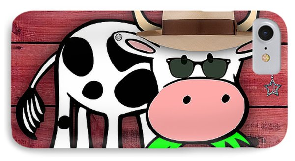 Cool Cow Collection IPhone Case