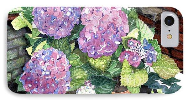Corner Garden IPhone Case by Barbara Jewell