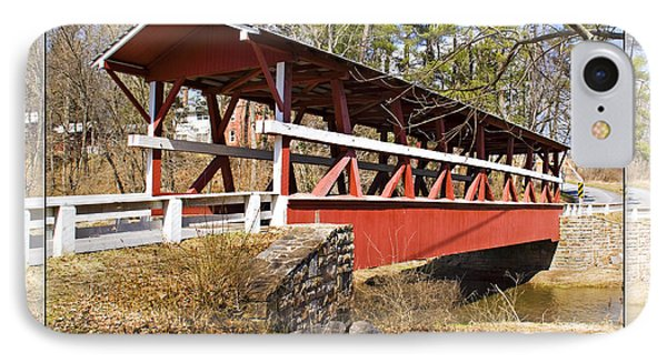Covered Bridge In Pa. IPhone Case