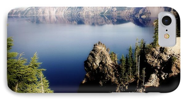 Crater Lake 1 Phone Case by Marty Koch