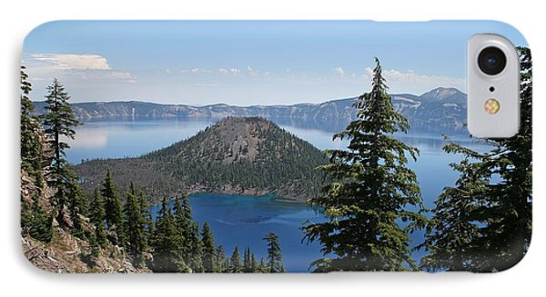 Crater Lake Oregon IPhone Case by Tom Janca