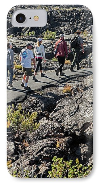 Craters Of The Moon Walking Tour IPhone Case by Jim West