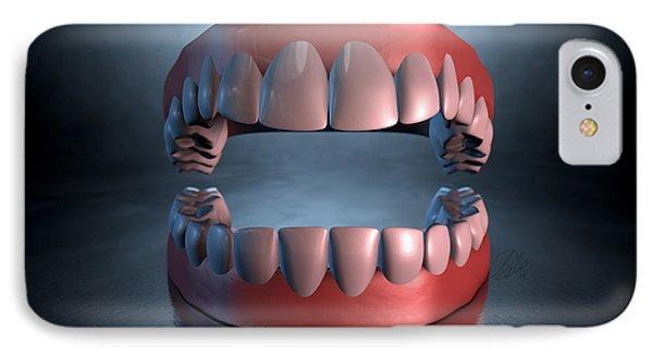 Creepy Teeth  IPhone Case