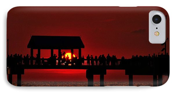 Crimson Sunset IPhone Case by Richard Zentner