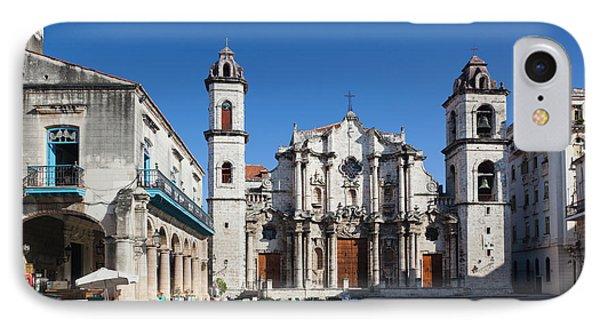 Cuba, Havana, Havana Vieja, Plaza De La IPhone Case