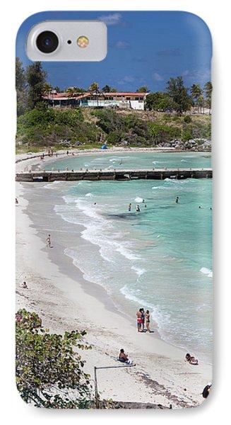 Cuba, Havana Province, Playas Del Este IPhone Case