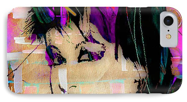 Cyndi Lauper Collection IPhone Case by Marvin Blaine