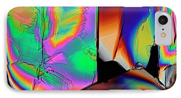 Cysteine Crystals IPhone Case by Antonio Romero